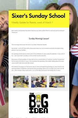 Sixer's Sunday School
