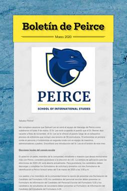 Boletín de Peirce