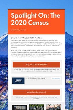 Spotlight On: The 2020 Census
