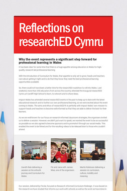 Reflections on researchED Cymru