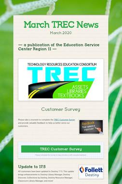 March TREC News
