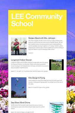 LEE Community School