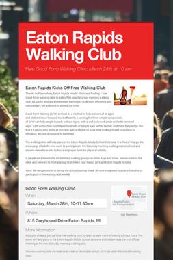 Eaton Rapids Walking Club