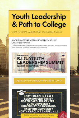 Youth Leadership & Path to College