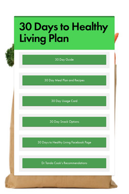 30 Days to Healthy Living Plan