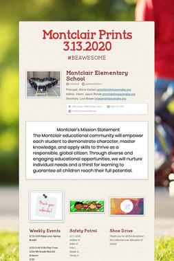 Montclair Prints 3.13.2020