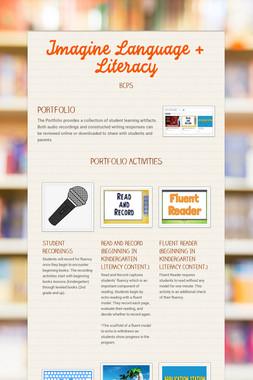 Imagine Language + Literacy