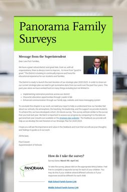 Panorama Family Surveys