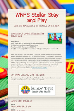 WNPS Stellar Stay and Play