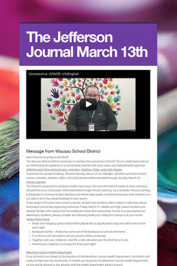 The Jefferson Journal March 13th