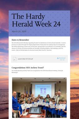 The Hardy Herald Week 24