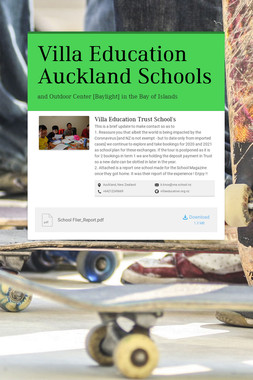 Villa Education Auckland Schools