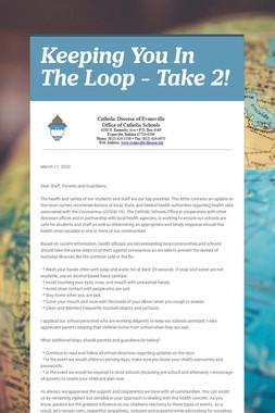 Keeping You In The Loop - Take 2!