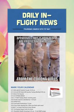 Daily In-Flight News