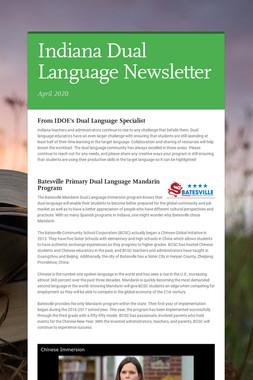 Indiana Dual Language Newsletter