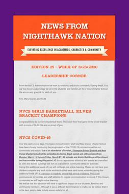 News From Nighthawk Nation
