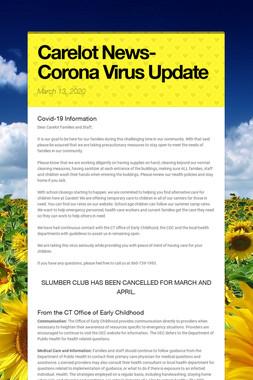 Carelot News- Corona Virus Update