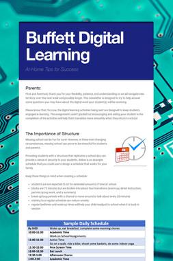 Buffett Digital Learning