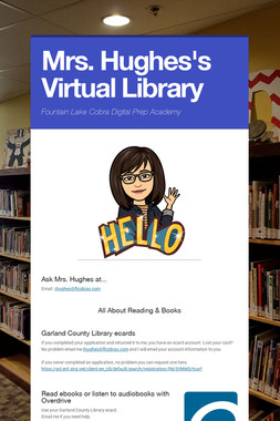 Mrs. Hughes's Virtual Library