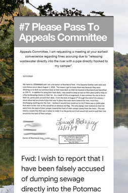 #7 Please Pass To Appeals Committee