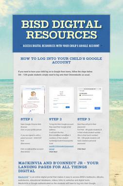 BISD Digital Resources