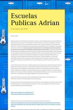 Escuelas Publicas Adrian
