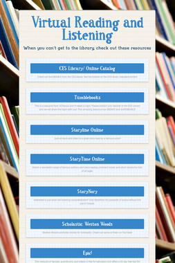 Virtual Reading and Listening