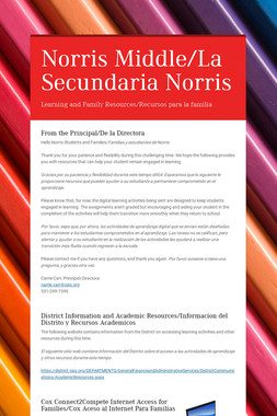 Norris Middle/La Secundaria Norris