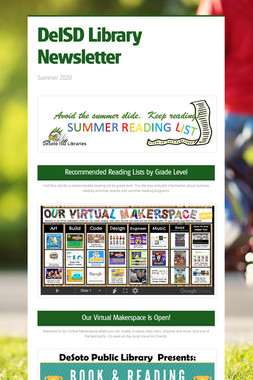DeISD Library Newsletter