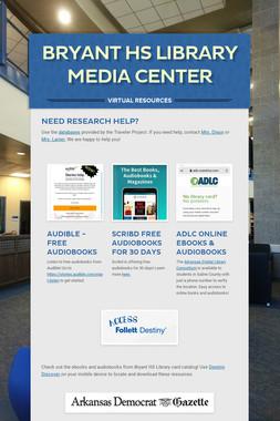 Bryant HS Library Media Center
