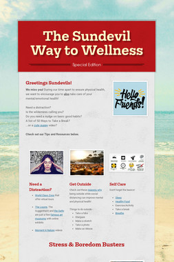 The Sundevil Way to Wellness