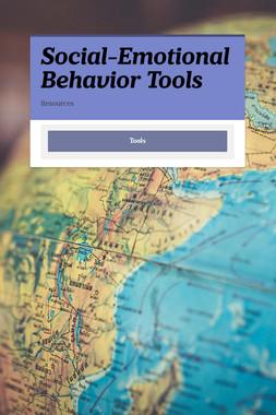 Social-Emotional Behavior Tools