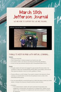March 18th Jefferson Journal