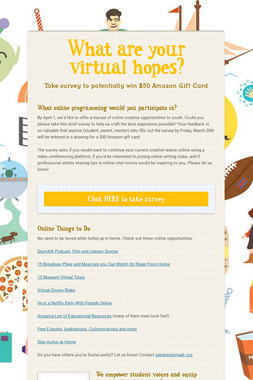 What are your virtual hopes?