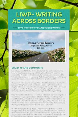 LIWP- Writing Across Borders