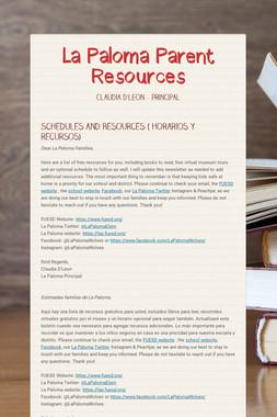 La Paloma Parent Resources
