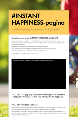 #INSTANT  HAPPINESS-pagina