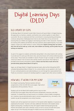Digital Learning Days (DLD)