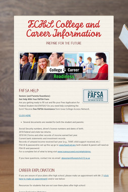 FCHS College and Career Information