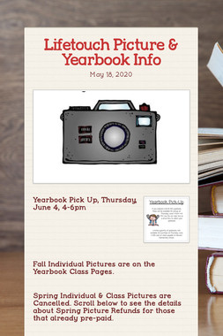 Lifetouch Picture & Yearbook Info