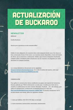 Actualización de Buckaroo