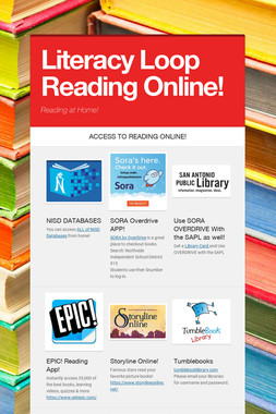 Literacy  Loop Reading Online!