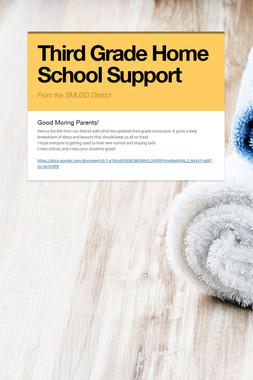 Third Grade Home School Support