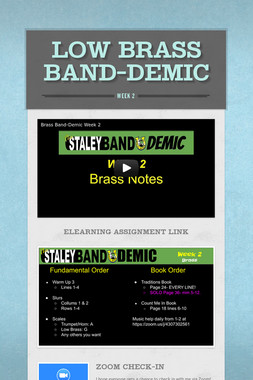 Low Brass Band-Demic