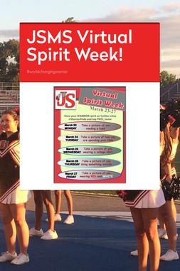 JSMS Virtual Spirit Week!