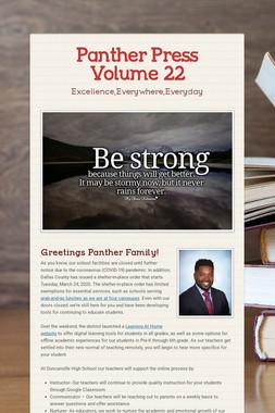 Panther Press Volume 22