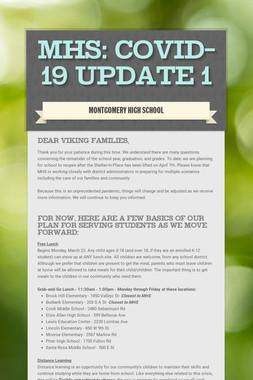 MHS: COVID-19 Update 1