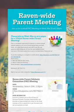 Raven-wide Parent Meeting