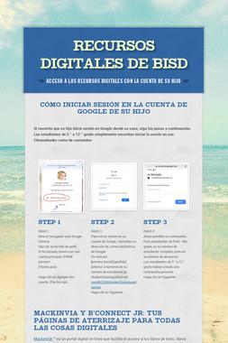 RECURSOS DIGITALES DE BISD