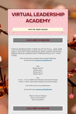 Virtual Leadership Academy